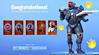 EARLY LOOK at the VISITOR VOLTA SKIN & REWARDS in Fortnite Battle Royale!