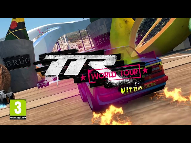 Table Top Racing: World Tour - Nitro Edition Nintendo Switch Official Trailer