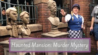 The Haunted Mansion: Murder Mystery Game | Magic Kingdom