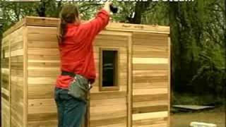 How To Build A Sauna: Add The Sauna Ceiling
