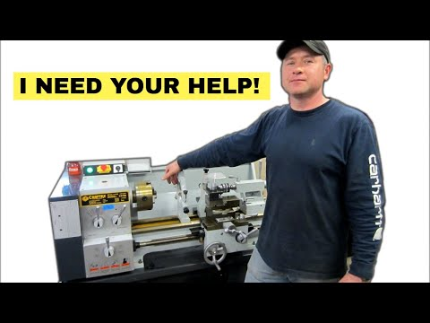 My New CRAFTEX Metal Lathe And Milling Machine - I Need Your HELP!