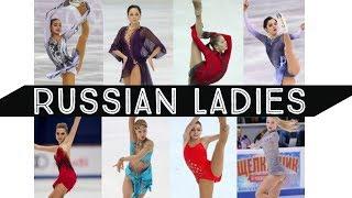 Figure Skating  - Russian Ladies |HD|