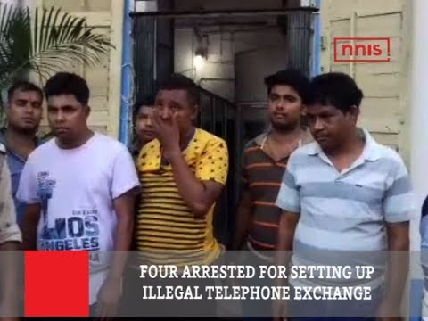 Four Arrested For Setting Up Illegal Telephone Exchange