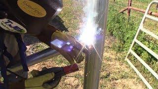 Welded Pipe Fence Brace.....Economy Version