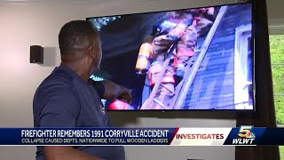 Firefighter remembers 1991 Corryville accident