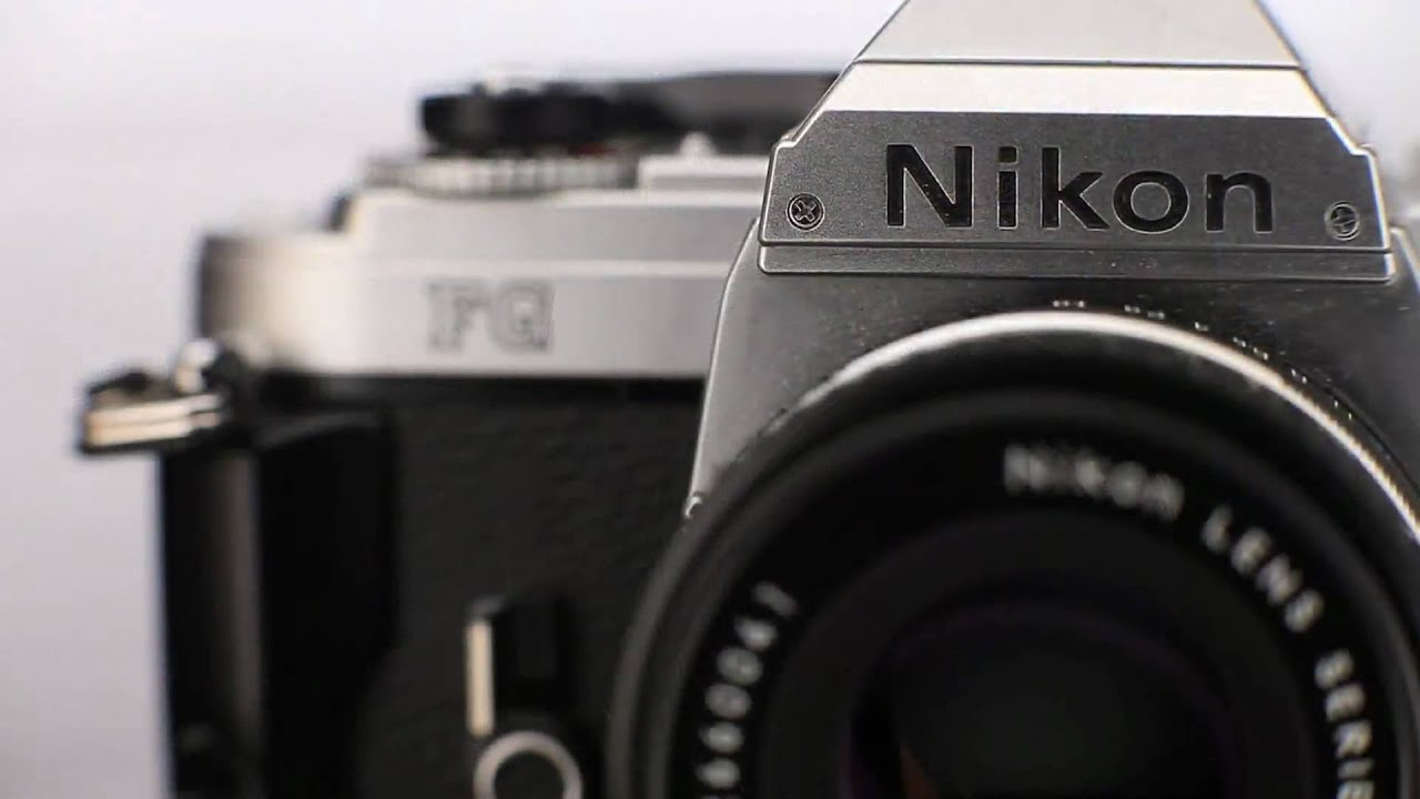 New Nikon FG Film SLR Camera