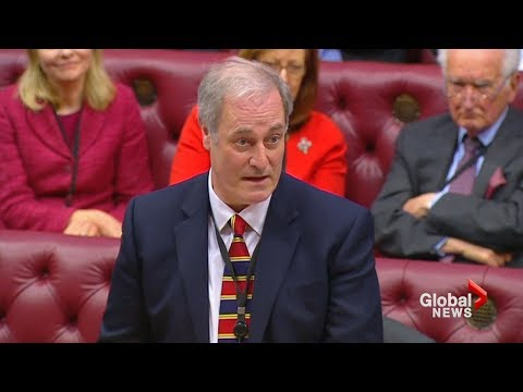 British lord resigns from parliament for being late to debate