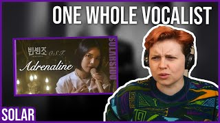 Download REACTION to SOLAR - ADRENALINE (ENGLISH VER.) VINCENZO OST SPECIAL CLIP