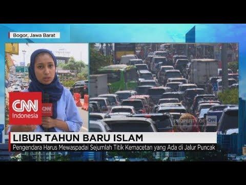 Libur Tahun Baru Islam, Jalur Puncak Macet