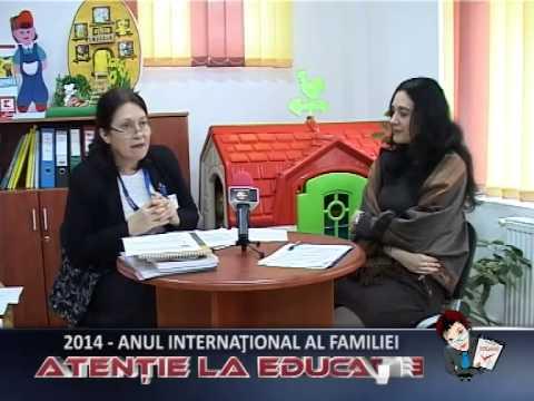ATENTIE LA EDUCATIE ANUL INTERNATIONAL AL FAMILIEI