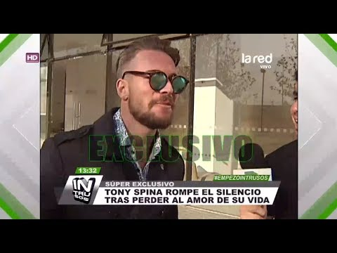 Tony Spina Rompe El Silencio Tras Perder El Amor De Su Vida
