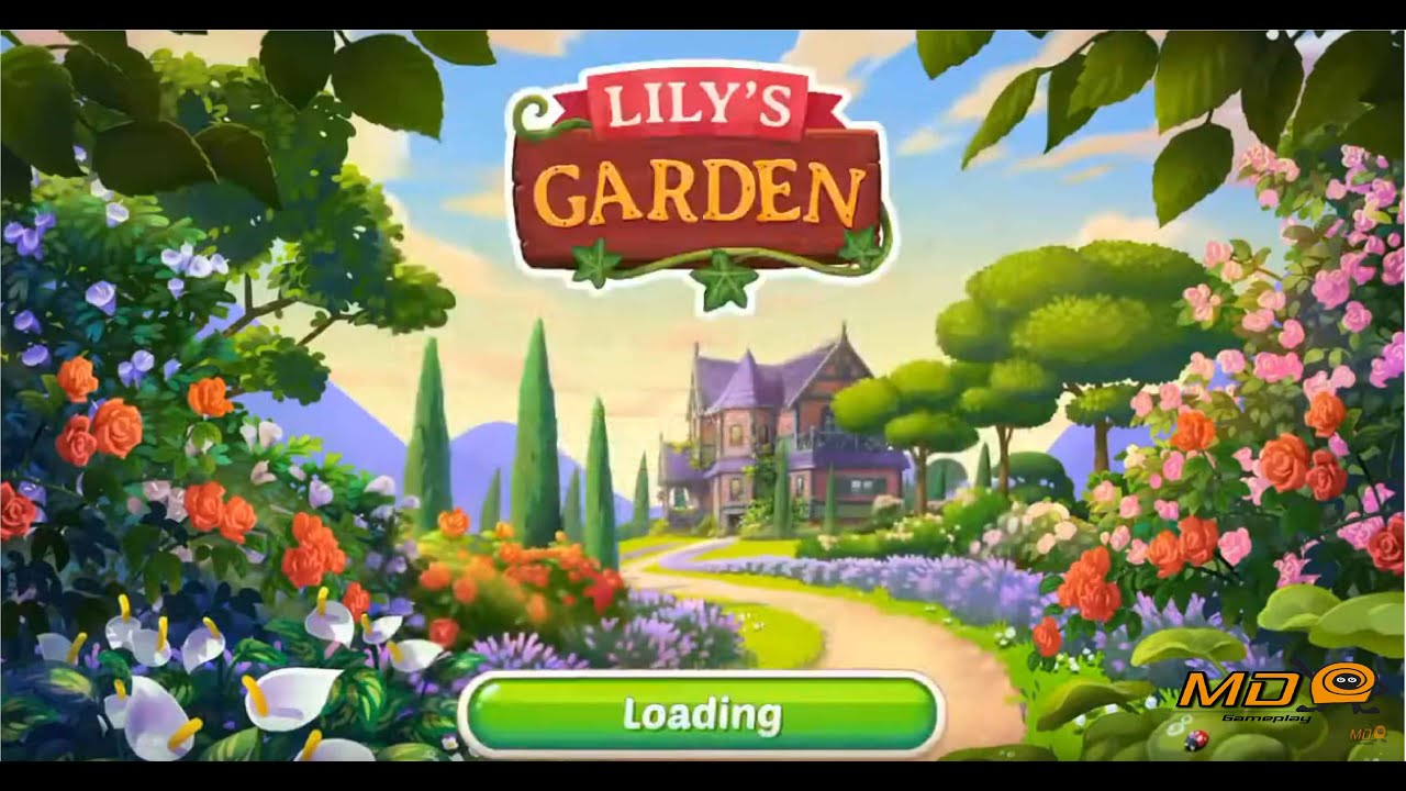 Lily S Garden Design Relax Gameplay Ios Android Youtube