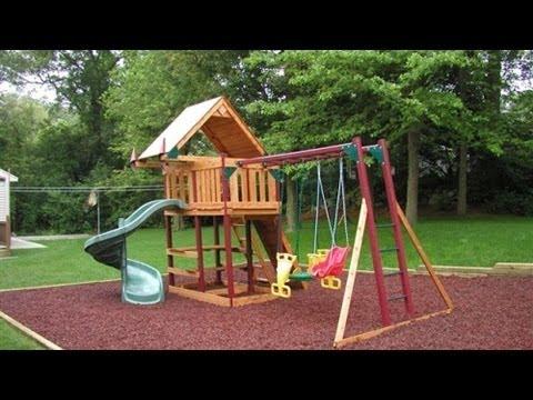Детская площадка на даче. Успехи на грядках 21/06/2014 GuberniaTV