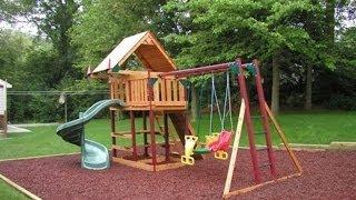 видео Детская площадка на загородном участке