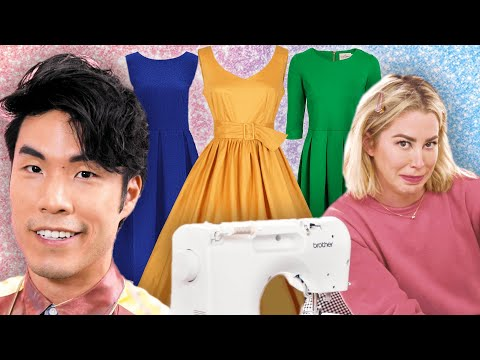 The Try Guys Make Dresses Without Instructions