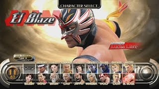 Virtua Fighter 5 - El Blaze Playthrough (XBOX 360)