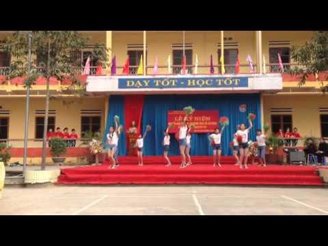 Nhảy aerobic hay nhất của lớp 7a4 trường THCS Lê Hồng Phong - Lục Yên