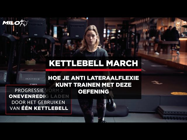 De Kettlebell March; hoe je anti-lateraalflexie kunt trainen