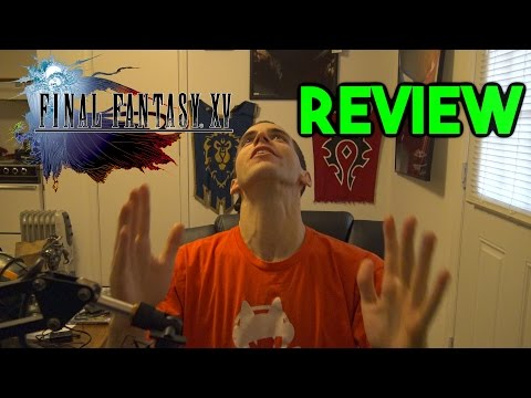 Final Fantasy XV Review - Final Fantasy 15 Game Review (Gameplay, Story + Open World) (FF15) (FFXV)