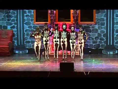 Teatergruppen Klima, Musical Monsterkongressen - Skeletdansen