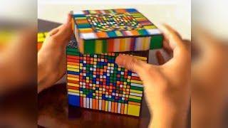 Il a résolu ce Rubik's Cube en 3 secondes... (¬‿¬)