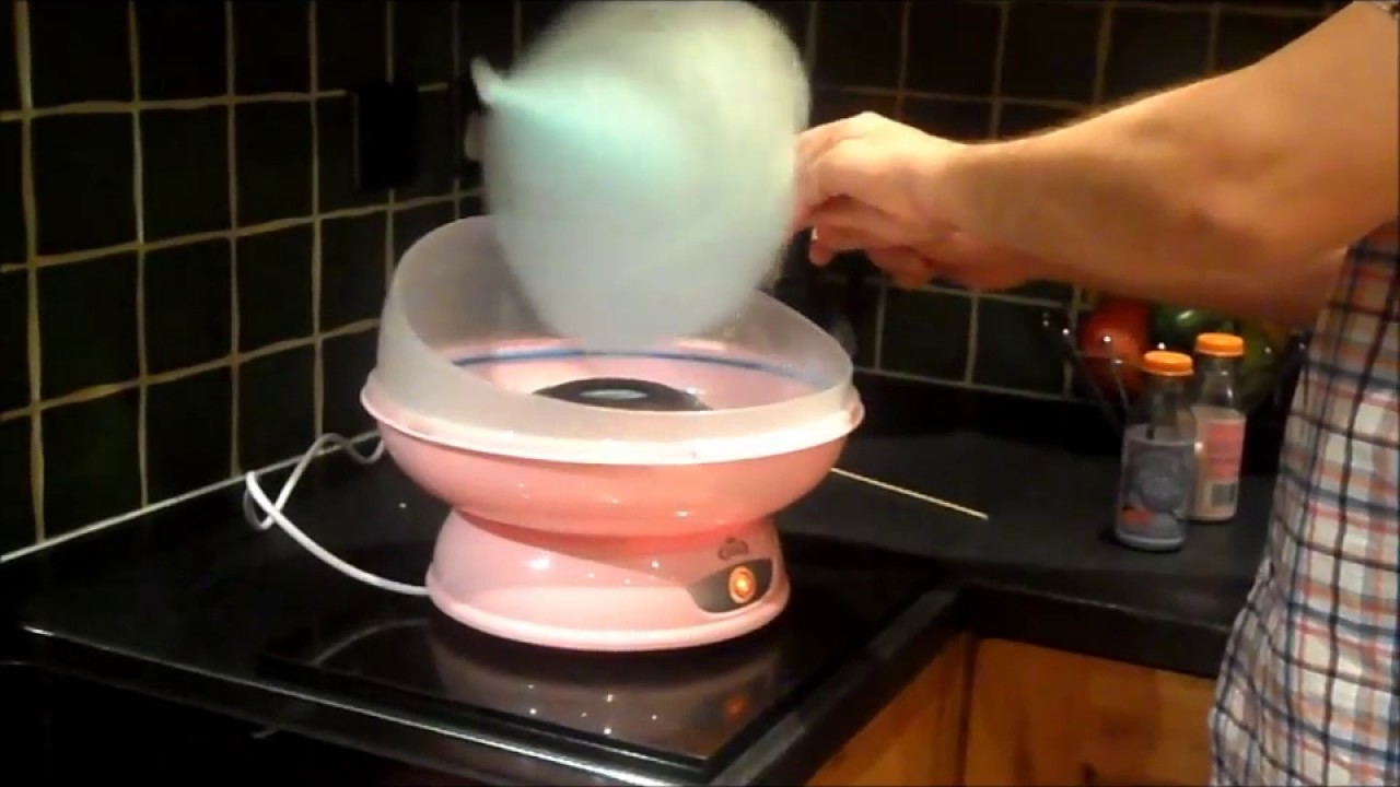 How To Basic Make The Worlds Best Cotton Candy Floss At