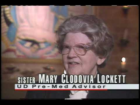 UD History  - Sister Clodovia Lockette