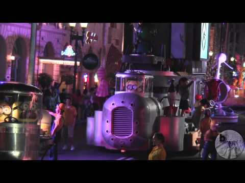 Universal's Superstar Parade at night at Universal Studios Florida