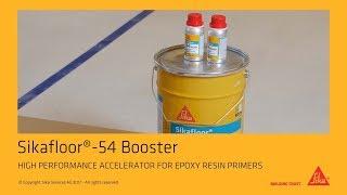 Sikafloor®-54 Booster: epoxy resin accelerator for flooring primer