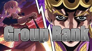 Top 100 Anime Openings | Group Rank