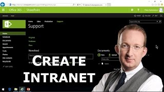 Create a SharePoint Online intranet for a small company