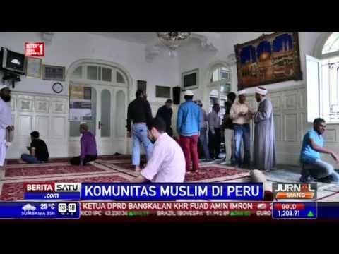 Komunitas Muslim di Peru Hidup Damai dengan Warga Mayoritas