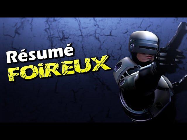 Crazybomb world resume foireux : robocop parodie