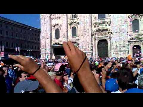 Ultima Tappa Alberto Contador Campione del Giro