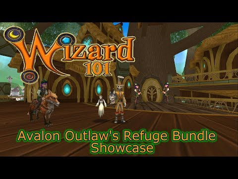 Wizard101 Avalon Outlaw's Refuge Bundle Showcase Fairyfly Vulpine