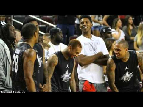 Trey Songz Gets His Ankles Broke At Power 106 Celebrity Basketball Game