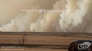 03-07-2017 Hays, Kansas Massive Grass Fire