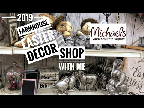 MICHAELS FARMHOUSE STYLE EASTER & SPRING HOME DECOR