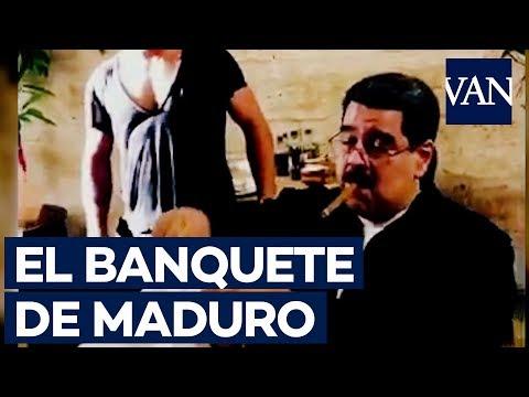 Críticas a Maduro por comer carne en un lujoso restaurante en Turquía