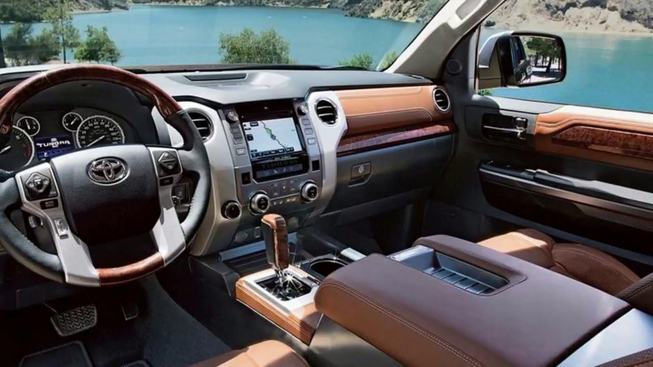 2019 toyota tundra trd pro interior and price