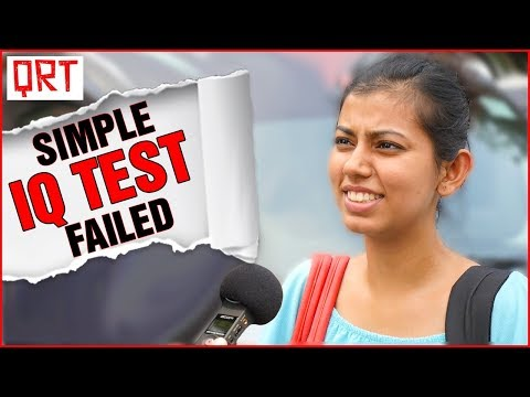 Thumbnail: Can You Pass This IQ TEST? (99% Will Fail ) | Funny Riddles And Brain Games | Quick Reaction Team