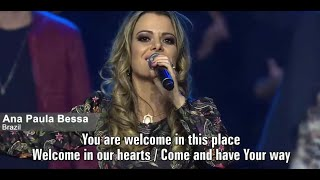 Let the Heavens Open - Ana Paula Valadão e ministros de louvor internacionais na Gateway Church