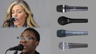shure sm58 vs sennheiser e835 vs akg d5 vs audix om2 live vocal microphone comparison review