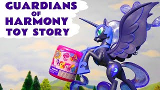 MLP My Little Pony Guardians Of Harmony toy story and opening of Fashems with Peppa Pig TT4U