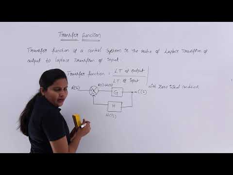 Transfer Function Of System