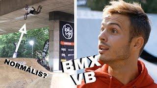 BMX VILÁGBAJNOKSÁG - 10 m-es Ugrató HÍD ALATT !!