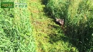 乗用草刈機を操作で楽にしたい方に!共立 乗用草刈機 RM88【農機具の通販なら「アグリズ」!】