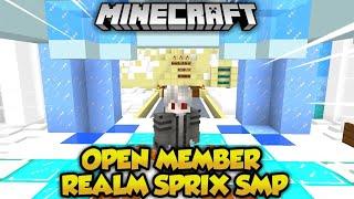 Open Member Di Realms Sprix smp s2!! Cocok dah buat mabar ama teman!!
