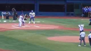 ベイターズの始球式で上島竜兵が投げたボールを関根大気が打ってしまい...