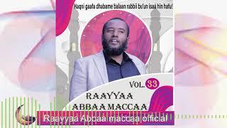 Raayyaa Abbaa Maccaa Vol.33B New 2020